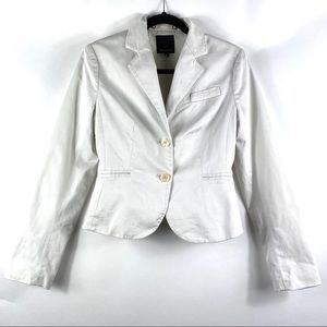 THE LIMITED White Two Button Blazer Women's Size 4